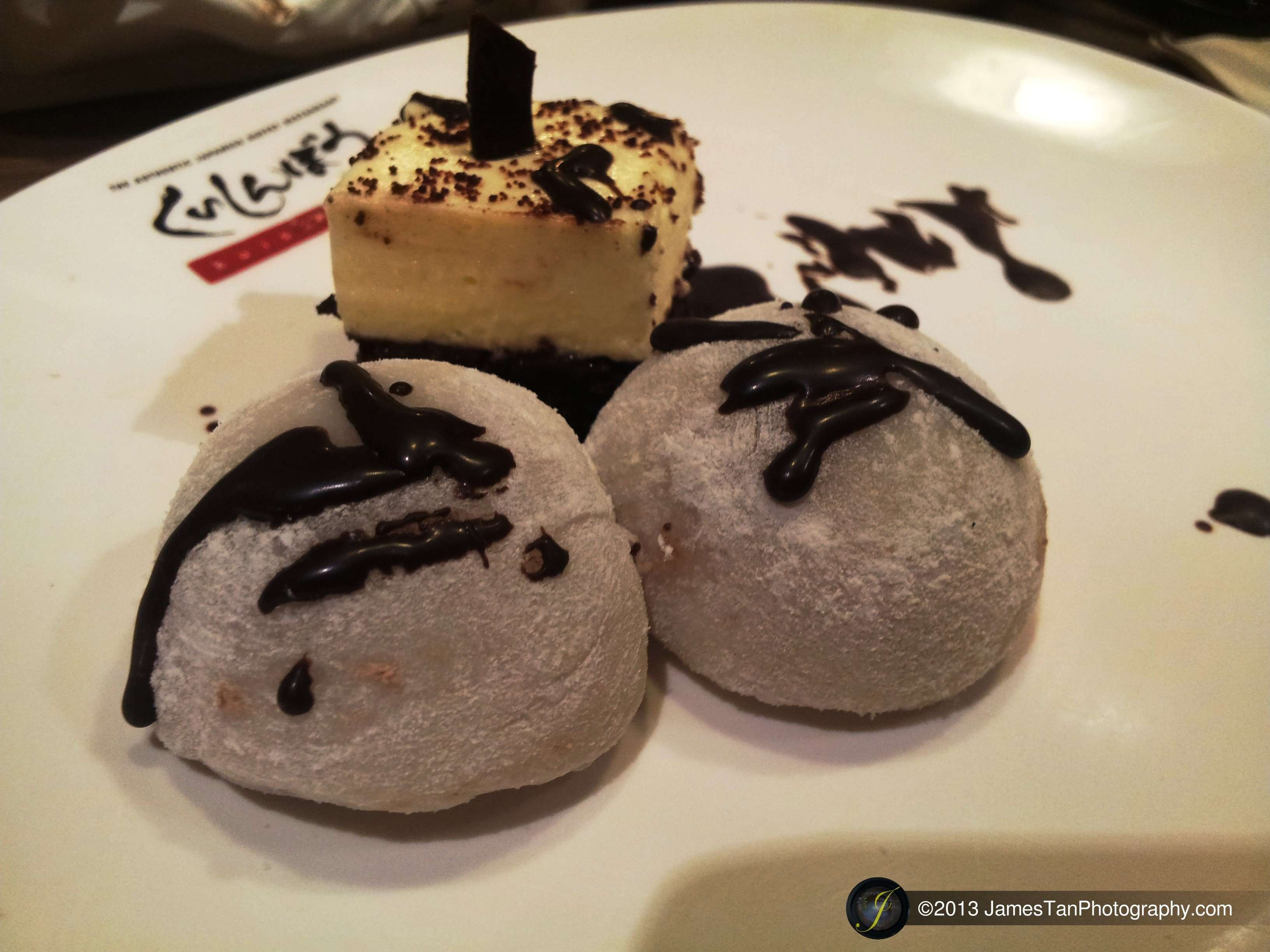 Dessert - Mochi and Cheese Cake