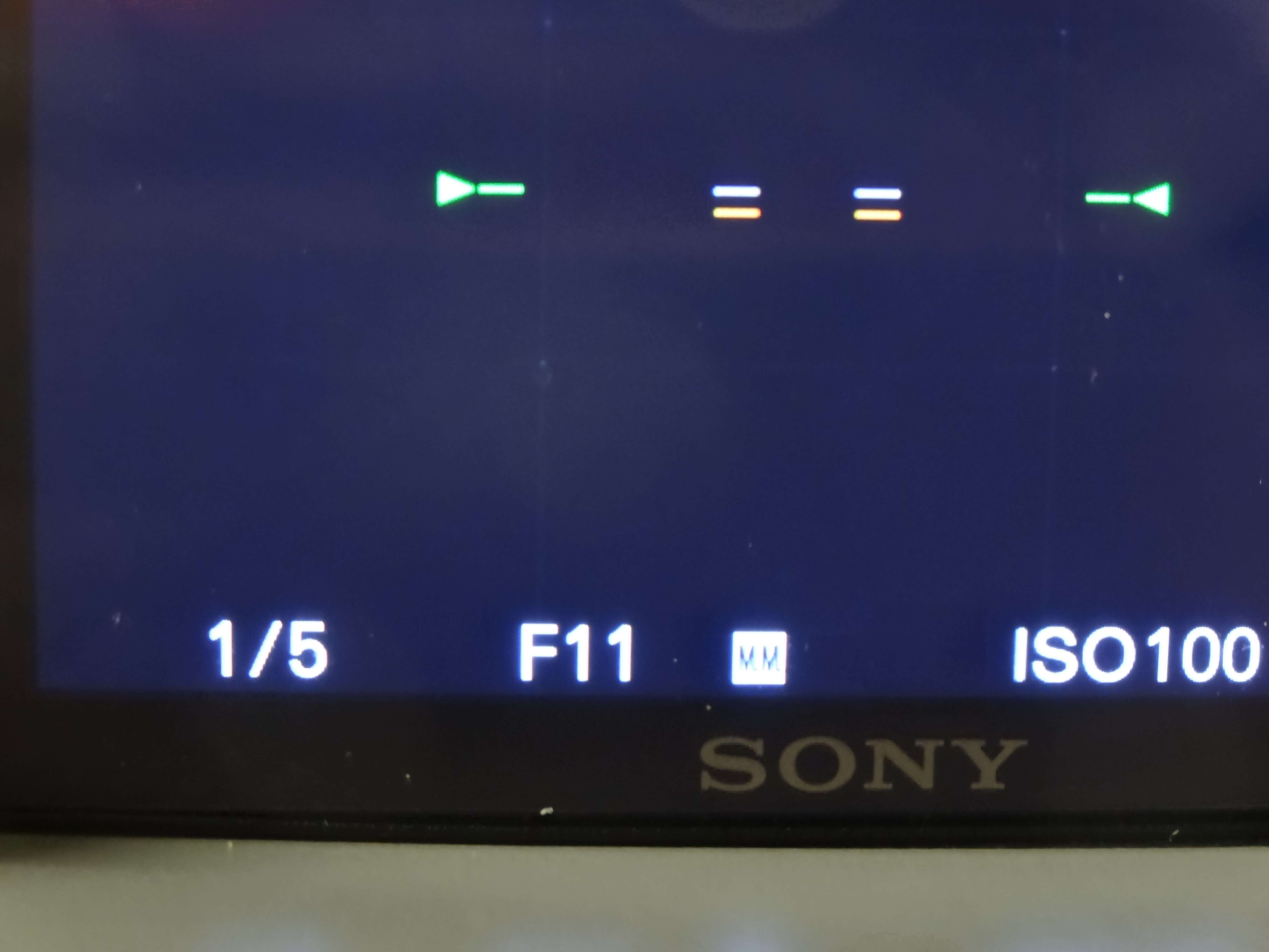 Set the Aperture to F 11 or Smaller